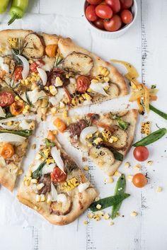 the ultimate veggie pizza | superman cooks