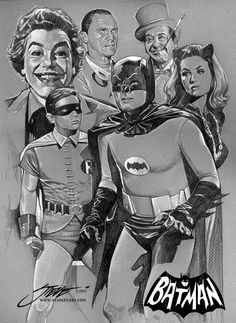 70s Batman I absolutly Loved this Batman and Robin growing up!! And all the villians too!! They were all perfectly casted for the rolls they played.