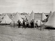 Jewish immigration camp in Tel Aviv, c. 1920