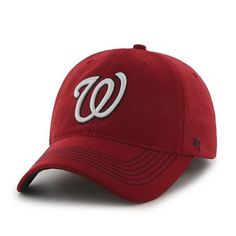 968faf74902 Washington Nationals Game Time Closer Red 47 Brand Stretch Fit Hat
