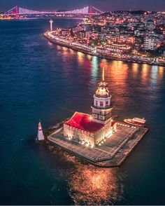 Do you know the legend /story behind this little island ; Will Post it in a story later! Istanbul, Turkey by 😍❤️ Restaurants In Paris, Universal Orlando Hotels, Orlando Resorts, Istanbul City, Istanbul Travel, Turkey Travel, Historical Architecture, Famous Places, Antalya