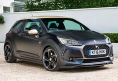 Rating and specs of DS 3 Performance - top speed 230 kph, power 207 hp. Ds3 Citroen, Car Ratings, Most Popular Cars, City Car, Top Cars, France, Koenigsegg, Fiat, Bugatti