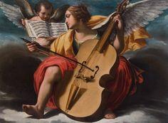 Oratorio dei Santi Rocco e Giobbe in Vallerozzi Gli angeli musicanti