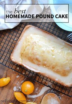 this is the BEST homemade pound cake recipe. Easy to make and perfect for your holiday's!