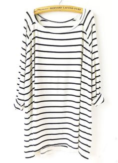 Striped loose tee — a perfect basic!