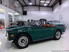 DANIEL SCHMITT & CO CLASSIC CAR GALLERY PRESENTS: 1972 TRIUMPH TR-6