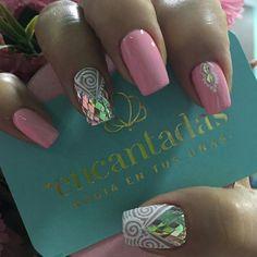 Gel Nails, Acrylic Nails, Manicure, Beauty Nails, Pretty Nails, Nail Colors, Nail Designs, Nail Art, Sour Cream