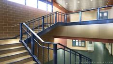 School Stairs by Vui-Huynh on DeviantArt Episode Interactive Backgrounds, Episode Backgrounds, Scenery Background, Living Room Background, Casa Anime, Anime Scenery Wallpaper, Poses References, Backrounds, Stairs