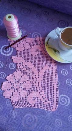 Filet Crochet, Beach Mat, Outdoor Blanket, Handmade, Crochet Curtains, Crochet Lace, Hat Crochet, Diy, Ideas