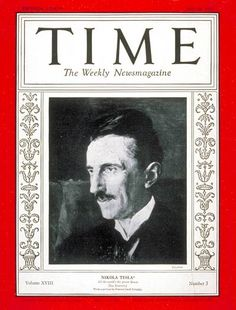 http://commons.wikimedia.org/wiki/File:Nikola_Tesla_on_Time_Magazine_1931.jpg
