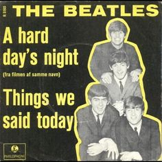 The+Beatles+Things+We+Said+Today+1964+ | The Beatles - A Hard Day's Night / Things We Said Today (1964)