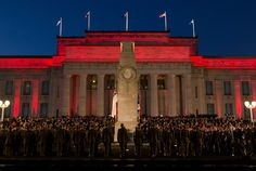 Thousands of people have attended Anzac Day services around New Zealand.  April 25 2013.