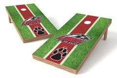 New Mexico Lobos Single Cornhole Board - Field