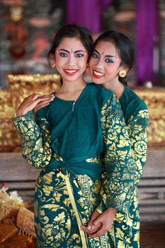 After dancing - , Bali