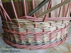 Мастер-класс, Поделка, изделие Плетение: мк косы и пара плетушек Бумага газетная, Трубочки бумажные. Фото 13