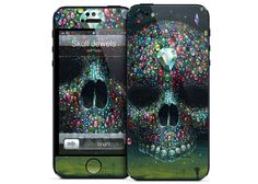 iPhone 5 - Skull Jewels by Jeff Soto