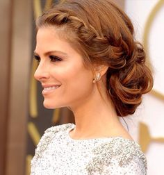 I could do a braid with a side part too..