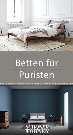 Bei Diesen Betten Geht Es Ganz Schlicht Um Eins U2013 Weniger Ist Mehr. #betten