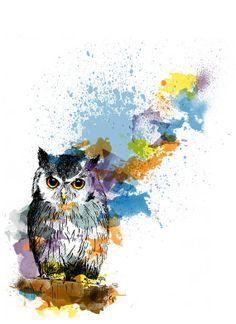 pintura abstracta en acuarela - Buscar con Google
