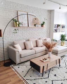 Home Room Design, Home Interior Design, Living Room Designs, Living Room Interior, Home Living Room, Living Room Decor, Apartment Living, Interior Design For Small Living Room, Living Room Gray