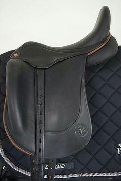 HB Contact dressage saddle. Bogdan Dabrowski