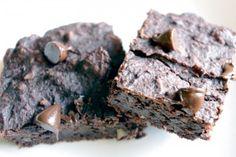 Fiber Packed Black Bean Brownies
