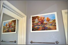 How To Mount And Hang A Jigsaw Puzzle Without Glue
