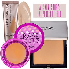 the perfect makeup trio // click to learn more about each product!