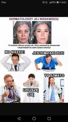 Hahaha Hahaha, Polish Memes, Really Funny Pictures, Funny Mems, Quality Memes, Good Mood, Best Memes, I Cant Even, Life Lessons