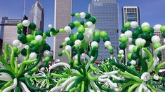 Chicago's St. Patrick's Day Parade 2014    Balloons by Tommy   #balloonsbytommy