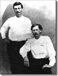 Bat Masterson and Wyatt Earp in Dodge City 1876