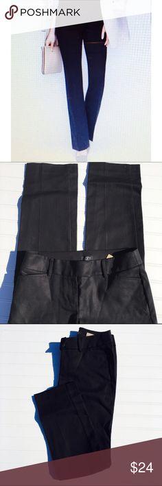 """NWT straight leg petite pants Ann Taylor SZ 0P. NWT. """"Marissa Straight"""". Black Ann Taylor Pants Straight Leg"""
