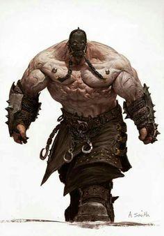 The Dark Fantasy Artworks of Adrian Smith Fantasy Character Design, Character Concept, Character Inspiration, Character Art, Concept Art, Dark Fantasy, Fantasy Rpg, Medieval Fantasy, Artwork Fantasy