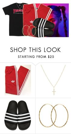 """""""Untitled #835"""" by msixo ❤ liked on Polyvore featuring adidas, Sydney Evan, adidas Originals and Pernille Corydon"""