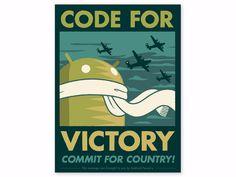 Code for Victory Print - Dead Zebra, Inc Shop