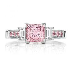 Opulent Coloured Jewels / Engagement Ring / LANE