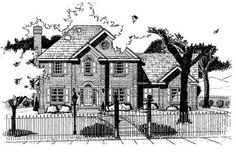 This two story Colonial/French Style house plan has just what your family needs: 2631 square feet of total living area, four bedrooms, three baths, and a three car garage. However, this house plan also provides comfort and style. The living room, dining room, family room, and kitchen on the main floor are all about practicality, but it's the little details that really make this a home. Notice the bright and cheery breakfast room and the warm fireplace in the family room. Or go upstairs and …