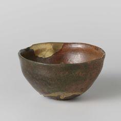 Raku bowl with gold repair, Kyoto, ca. 1650 - ca. 1750