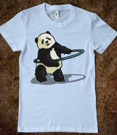 Hoola Hooping Panda