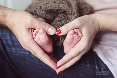 feet photography with heart