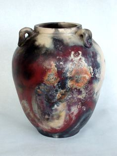 Colleen O'Sullivan, Pit Fired Urn, New York, 2007