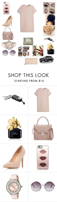 """"""""""" by jordyn-jw on Polyvore featuring MANGO, Marc Jacobs, Alexander McQueen, Dorothy Perkins, Casetify, Ted Baker, Monki, Michael Kors and BMW"""