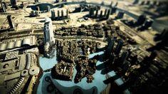 The two towers of Dubai.  Cosmopolitan - Dubai & Hong Kong http://goo.gl/FXQAc