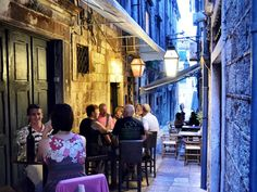Dubrovnik in Croatia is famous for its beauty, but it's also a great town to explore. The city is made up of hundreds of narrow alleyways, hiding shops, restaurants and cafes like the D'vino wine bar. Visit Croatia, Croatia Travel, Dubrovnik Croatia, Croatia 2016, Places To Travel, Places To See, Yacht Week, Travel Inspiration, Travel Ideas