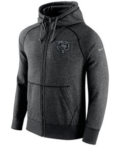 Nike Men's Chicago Bears Gridiron Full-Zip Hoodie