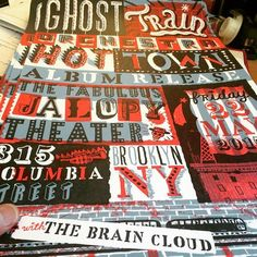 Ghost train orchestra Poster
