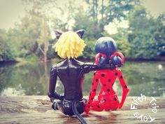 Chat Noir and Lady Bug