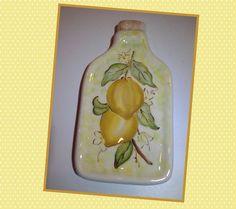 Porta azeite limão siciliano - Studio Seramik