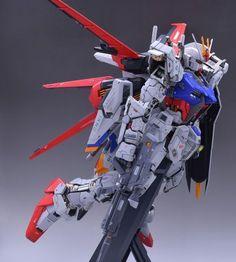 PG 1/60 Aile Strike Gundam - Customizeed Build Modeled by soju2562