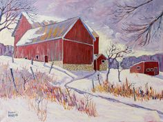 Scoharie-Road-Barn by Aidan Haley - Prince Edward County Studio Tour